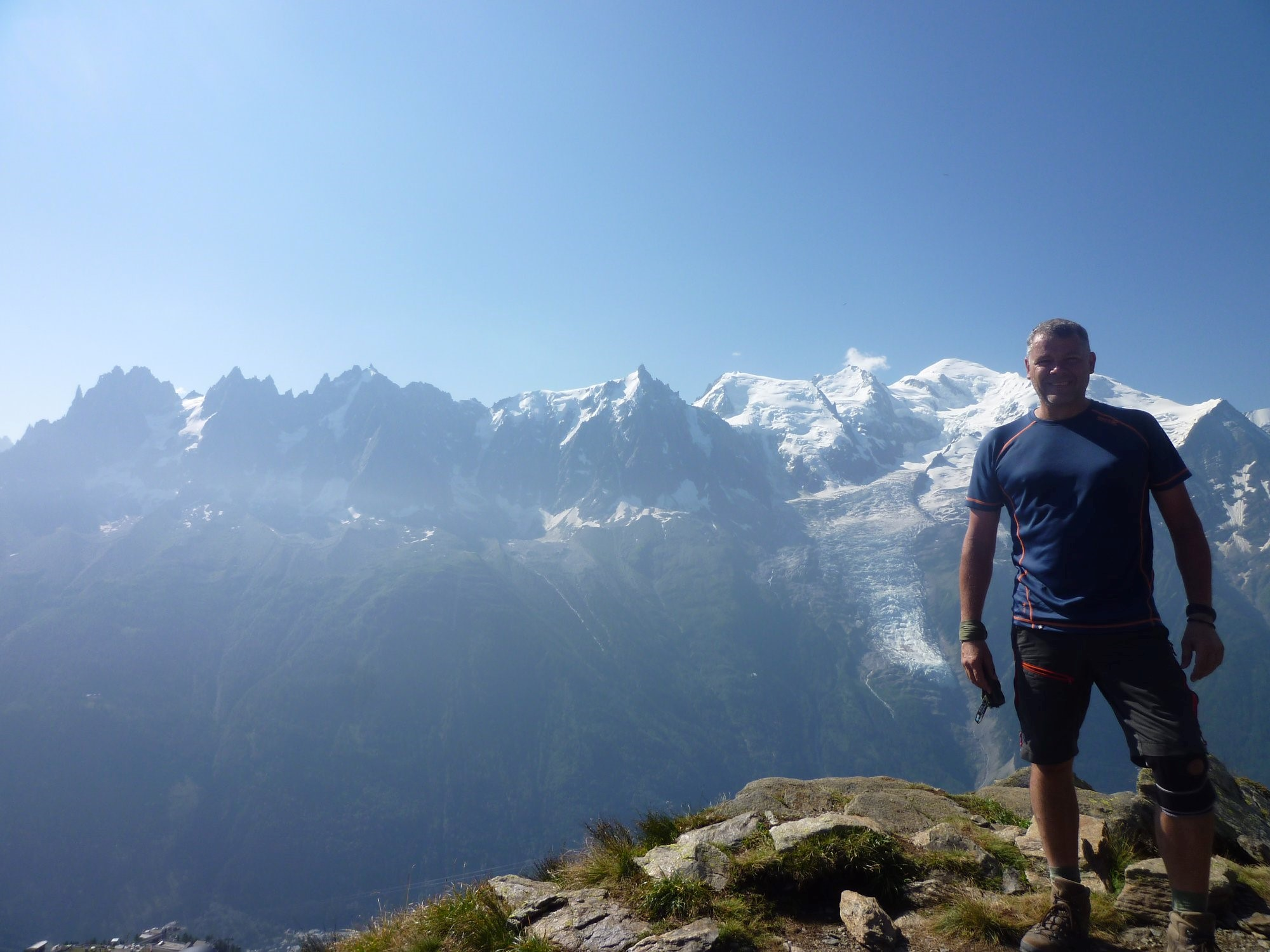 Adrian on his epic solo and wild camping tour of Mont Blanc adventure