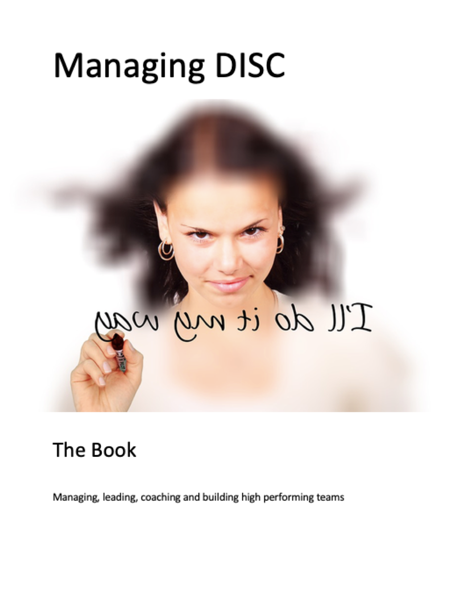 Managing Disc Book and Test
