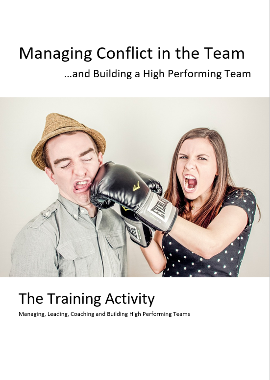 Conflict Management Training Activity